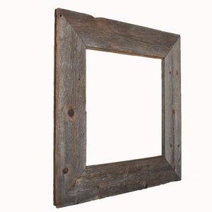 Over-sized Barn Wood Frame